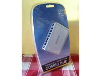 7-Port USB 2.0/FireWire Combo Hub ( NEW, UNUSED ) - bargain