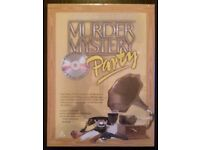 Murder Mystery Party 'Murder In The Thirties' 2005 CD & DVD Game (new)