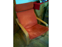IKEA 'poang' rocking chair - good condition