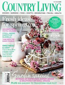 COUNTRY LIVING UK MAGAZINE     May 2013