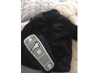 Alpinestars jacket medium new with back protector dry star enforce