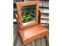 Dressing Table Mirror with Jewelery Drawer
