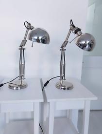 2 x IKEA Lamps + Lightbulb