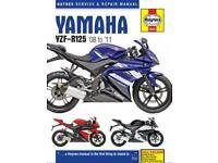 Yamaha YZF-R125 08-11 Haynes Manual