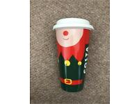 New Rare Limited Edition Costa Coffee Travel Mug Christmas
