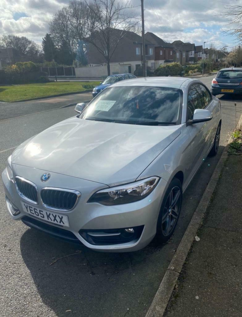 2015 (65 Plate) BMW 2 Series Coupe Silver, 24,000miles ...
