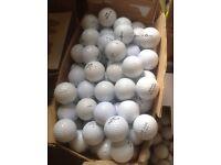 Golf Balls, Titleist, Srixon, Callaway, top Flite, pinnacle, Dunlop .