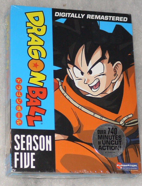 Dragon Ball Season 5 Five Dragonball DVD Box Set - NEW & SEALED