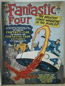 Fantastic Four comic book print