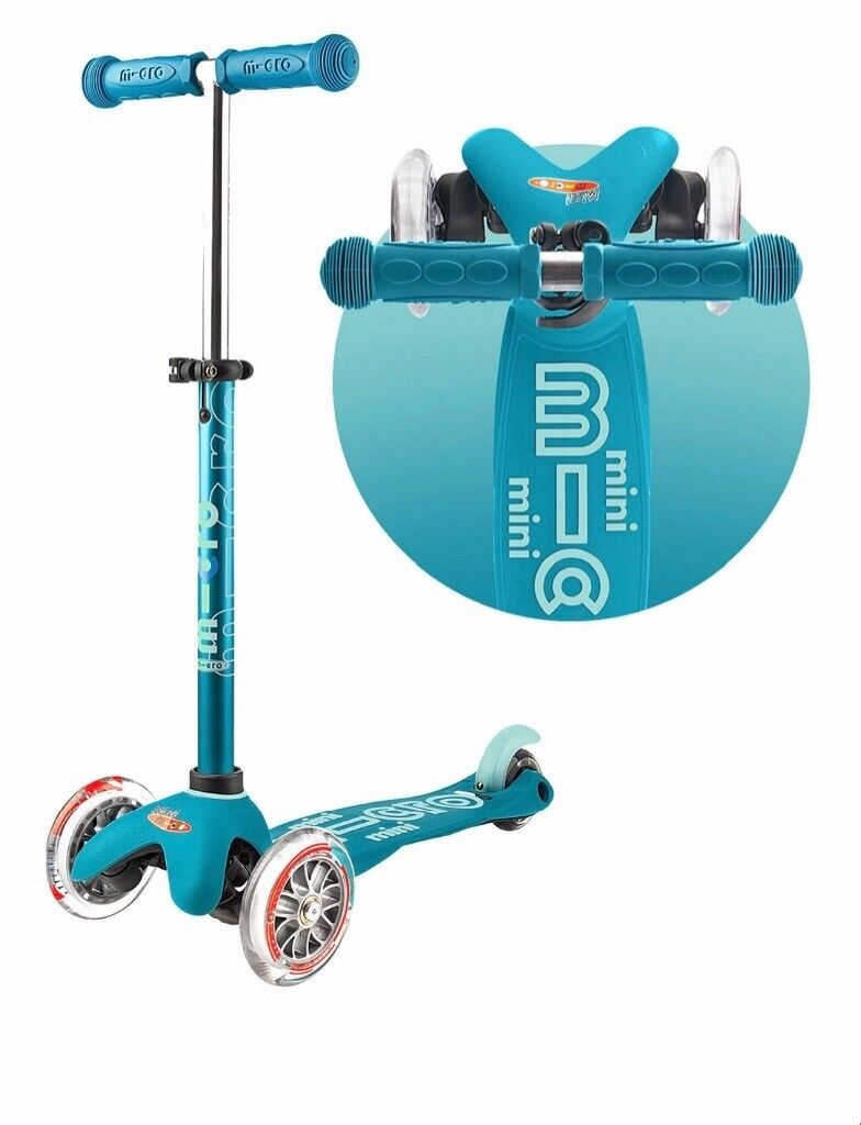 Mini Micro Deluxe Scooter 2 5 Years Teal Colour In
