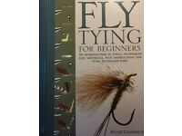 2 Books - Fly Tying for Beginners & The Fly Tying Bible