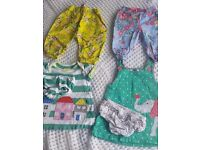 Cute baby girls boden outfits and Joules and M&S trousers