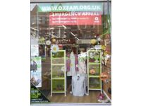 Muswell Hill OXFAM Looking for Local People to help in our Shop