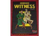 Blake & Mortimer 'Witness' Game (as new)