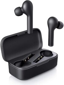 Wireless Earphones, Bluetooth 5 Headphones with Noise Cancellation Mic