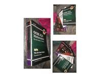 6 GCSE guide books