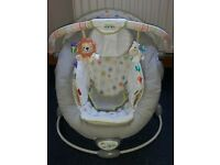 Bright Starts Taggies Soothe Me Soft Bouncer