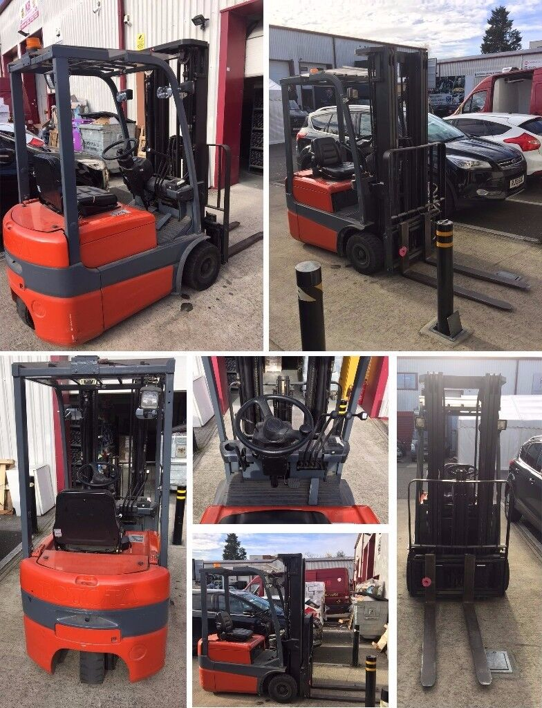 Toyota Used Electric (Battery Operated) 3Wheels Forklift 1.5 Tonne Mast 4.3Mt Progressive Hydraulics
