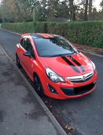 Corsa D 1.2 limited edition petrol