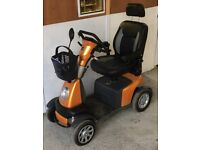 Extra Large 8mph full suspension mobility scooter - Van Oz Galaxy Plus