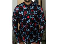 Gucci graffiti shirt for sale
