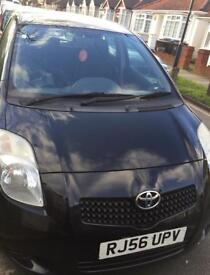 Toyota Yaris 1.3 2007 low mileage with long MOT in Wembley