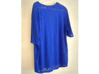 Brand Internacionale Ladies Women Blue Top Size 14 Last Chance To Buy