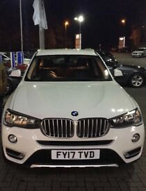 BMW X3 - BMW warranty, perfect condition, auto, larger professional media display, reverse camera