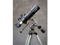 SKYWATCHER ST-80 Short Tube Refractor with Equatorial Field Tripod