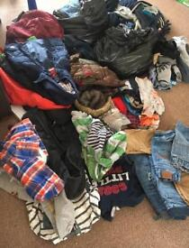 Massive amount of boys clothes ages 2 years -7 years