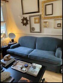 Italian Linen sofa