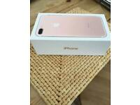 Good Condition iPhone 7 Rose Gold on EE With Box & Accessories. Can Deliver