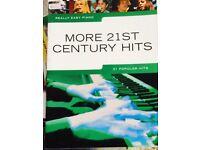 Piano sheet music books perfect condition