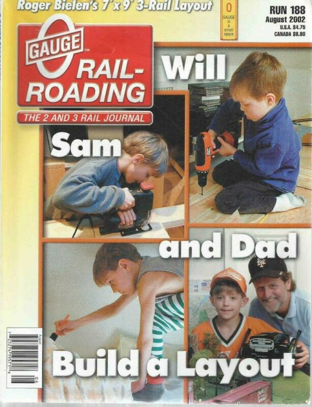 O Gauge Railroading August 2002 Layouts For Disabled & Handicapped Operators