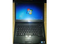 "Used Laptop Dell E6410 14"" Screen, Microsoft Office"