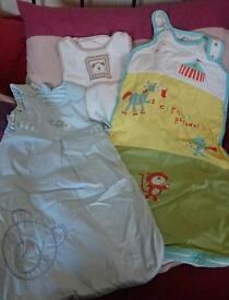 3 x baby sleeping bags