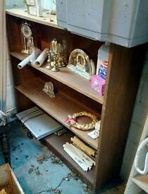 Wooden bookcase great condition open to offers!