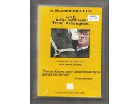 A HORSEMAN'S LIFE WITH BILLY JOHNSON FROM ASHINGTON, new DVD