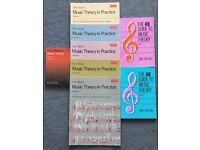 ABRSM Music Theory Books Grade 1 - 5