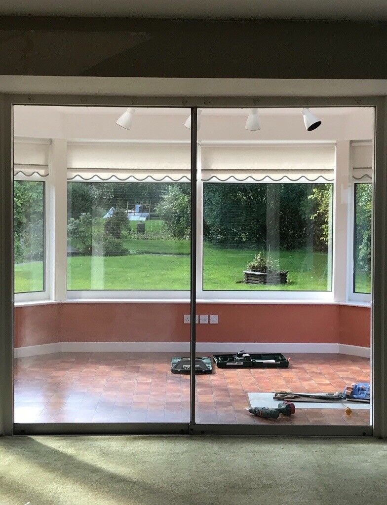 Glass Sliding Doors And Track In Ponteland Tyne And Wear Gumtree