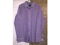 Men's Hugo Boss checked shirt. Size XXL. £40