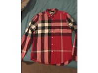 Burberry oxford shirt RRP £219