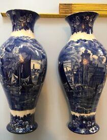 Wedgewood ferrara Vases