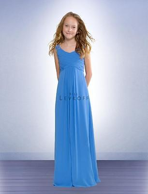 Bill Levkoff Junior Bridesmaid Dress 53702 Chiffon Gown NEW Flower Girl Bill Levkoff Junior Bridesmaid Dresses