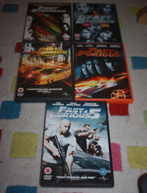 Fast and Furious 1 - 5
