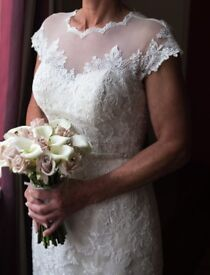 Ivory Wedding Dress For Sale Size 10/12