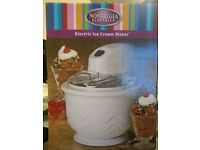Nostalgia Electrics Electric Icecream Maker New