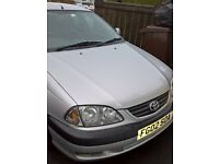 AUTO Toyota Avensis GLS 2002 Mot April 17 Full History Very Clean must be seen