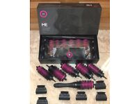 Pro Blo Curl me Hair Styling Set Ceramic Coated Barrels with Detachable Handles
