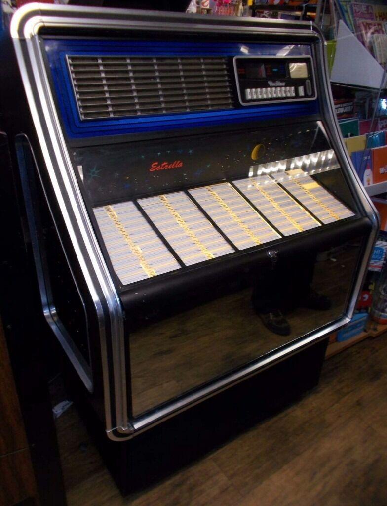 Vintage Retro 1970s Wurlitzer Estrella Jukebox In